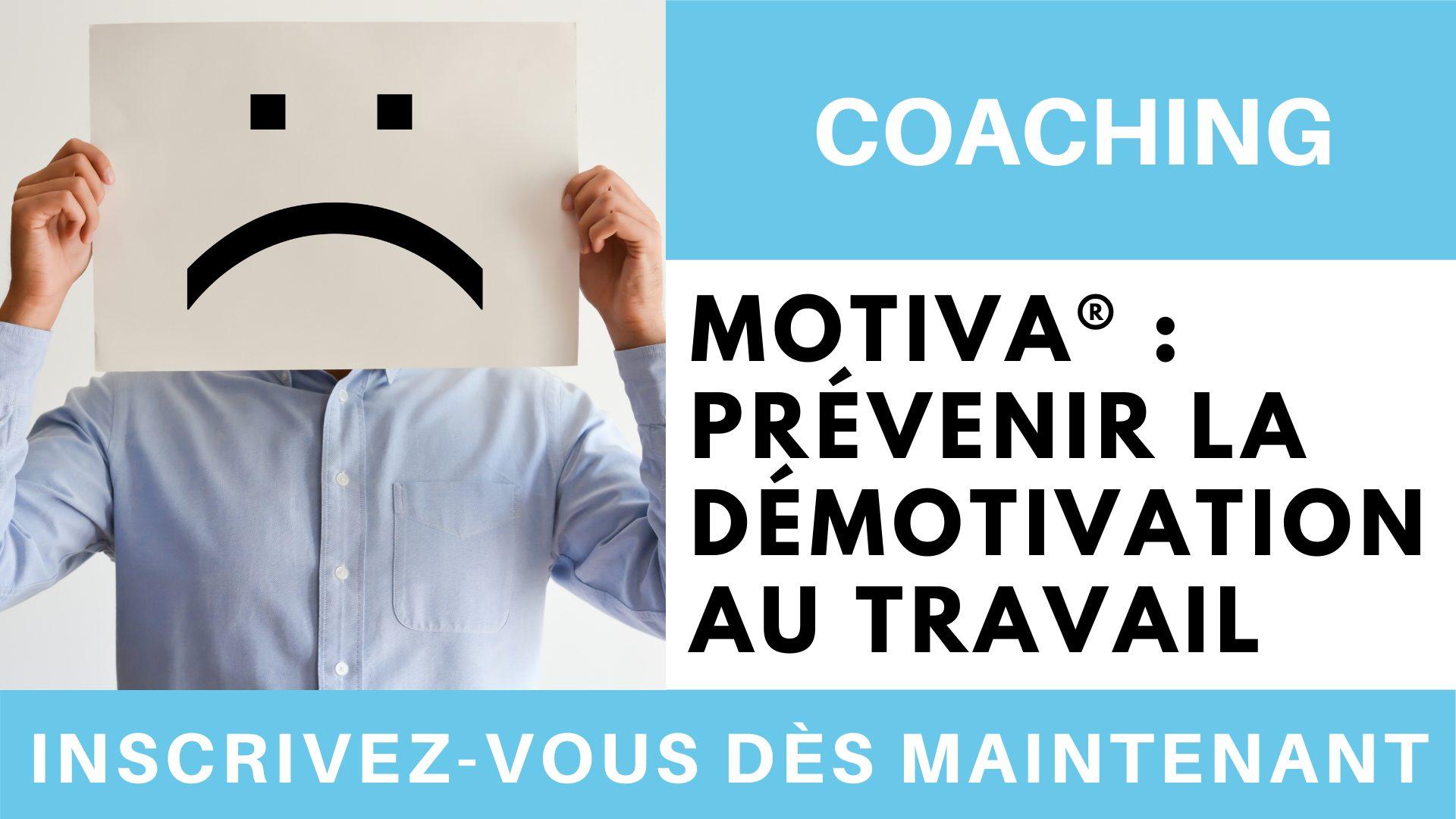MOTIVA® _ prévenir la démotivation au travail