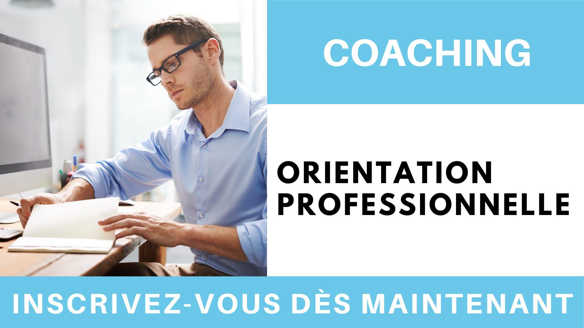 Coaching orientation professionnelle