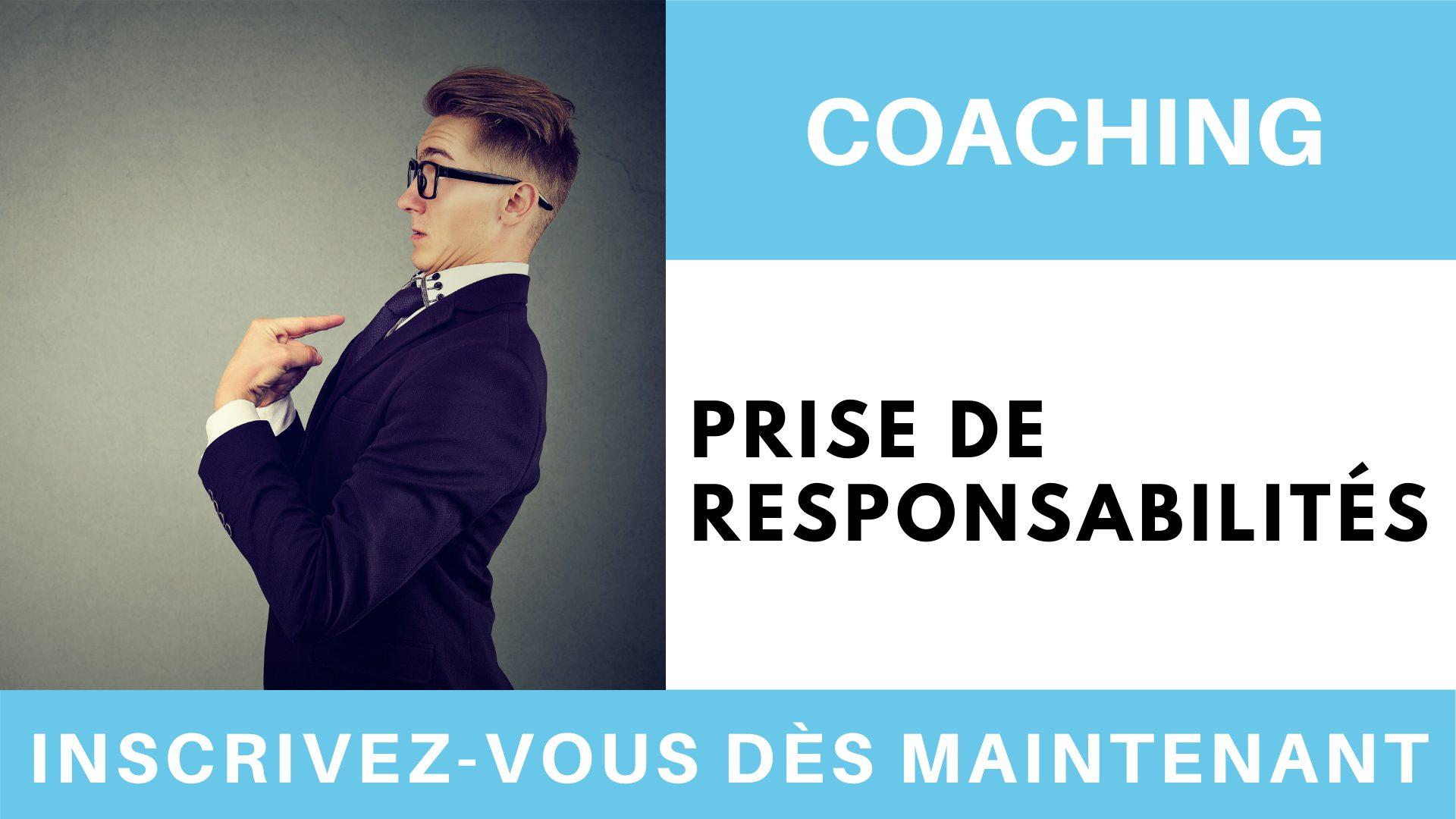 Coaching prise de responsabilités