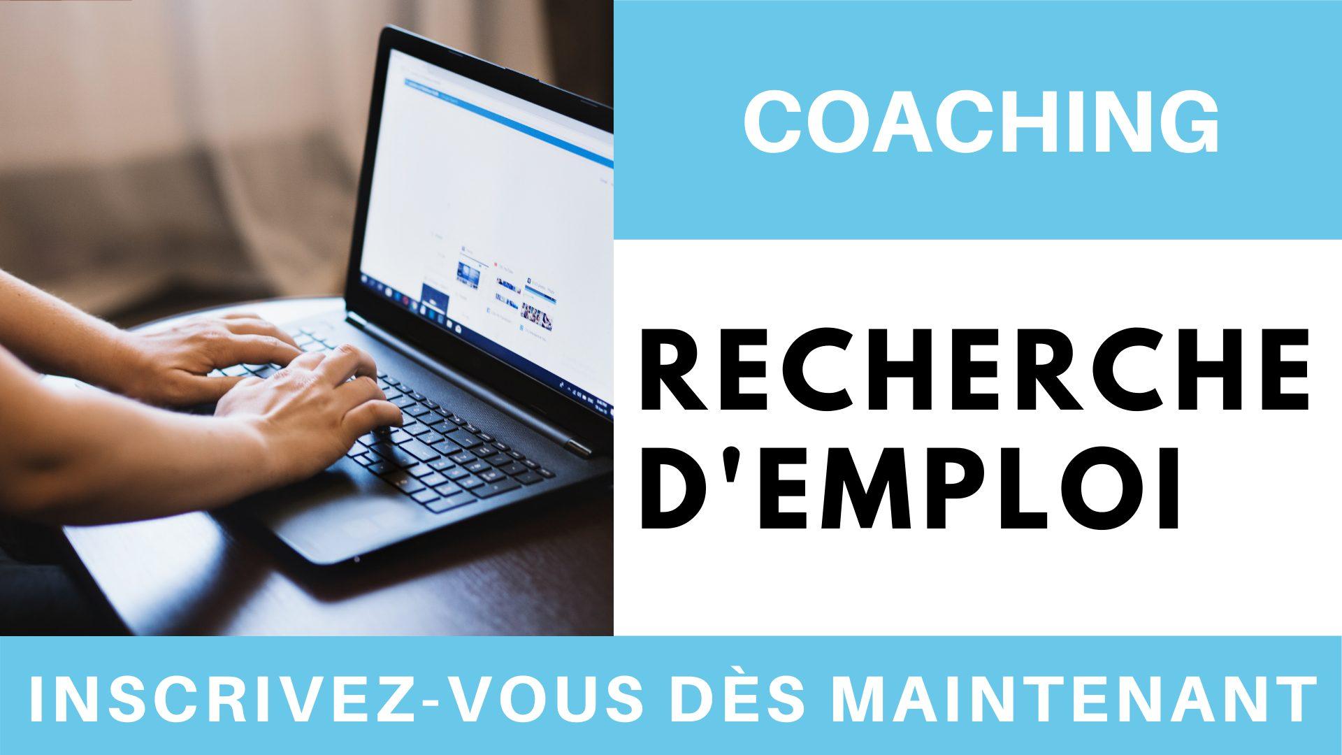 Coaching recherche d'emploi