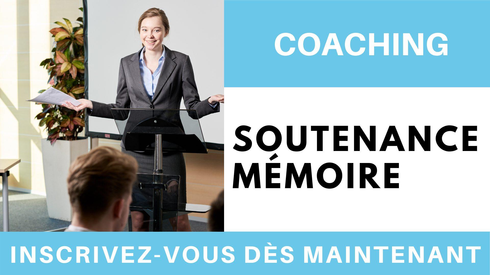 Coaching soutenance mémoire